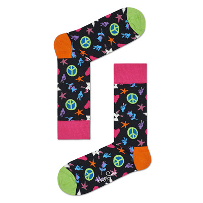 Skarpetki Happy Socks Peace & Love
