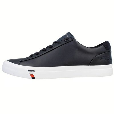 Tommy Hilfiger Corporate Leather Sneaker - Tenisówki męskie