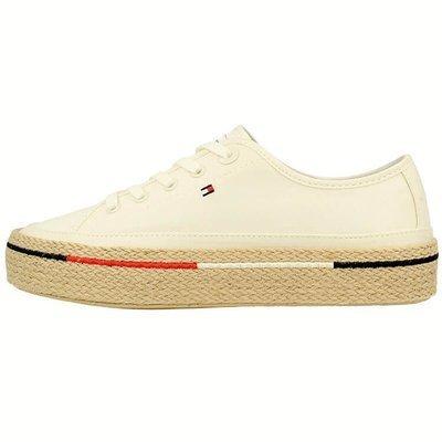 Tommy Hilfiger Platform Rope Sneakers - Tenisówki damskie na platformie